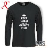 T-shirt de la pêche, vente en gros, vente chaude (QF-2214)