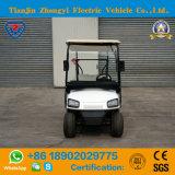 ZhongyiのブランドのセリウムおよびSGSの証明の小型2つのシートの電気標準的なツーリストのカート
