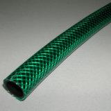 Mangueira de jardim reforçada fibra do PVC