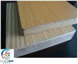 멜라민에 의하여 박판으로 만들어지는 합판 1220*2440 mm 크기 포플라 및 경재 물자 합판