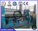 Machine de roulis hydraulique résistante de plaque de commande numérique par ordinateur de 3 rouleaux de W11S