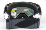 Lunettes de sécurité pour lentilles interchangeables PC Lunettes de snowboard avec étui EVA