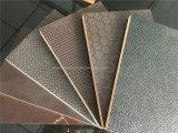 los materiales del concreto de 1250X2500X21mm/20mm/18m m Shuttering la película negra de Brown hicieron frente a la madera contrachapada