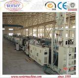 Tubo Línea de producción de extrusión de agua de HDPE PP PE gas con 20-110mm alta velocidad