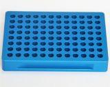 Les pièces de usinage de commande numérique par ordinateur avec coloré anodisent