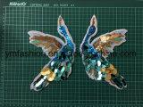 Kleid-Zubehörsequins-Änderung- am Objektprogrammblumen-Stickerei-Änderung am Objektprogramm Ym-2