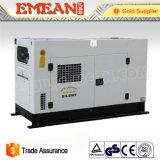 물에 의하여 냉각되는 Generator100kw 125kVA 디젤 엔진 발전기 세트