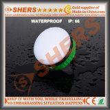 Wasserdichte nachladbare Lithium-Batterie der USB-kampierende Laterne-Taschenlampen-3.7V8800mAh
