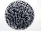 Converter catalitico Metal Honeycomb Substrate per Cars/Motorcycle
