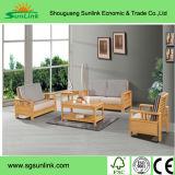Mobília tradicional da madeira contínua para a pensão do feriado