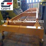 Écarteur semi-automatique de conteneur pour la grue de Gantary de conteneur de bord du quai
