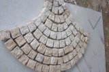 G682 Rusty Yellow / Beige Granito Paving / Cube / Cobble Stone / Setts Cobblestone para paisagismo / Driveway / Patio / Garden / Pathway