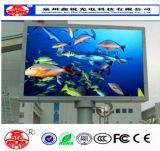 Hohe Helligkeit P8 im Freienled-Großhandelsbildschirmanzeige mit Aluminiumschrank