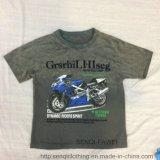 De T-shirt van Moto van de Kleren van de Kinderen van de Was van de band in Jonge geitjes kleedt sq-6227