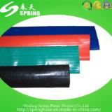 Boyau plat étendu par PVC de débit de l'eau de qualité
