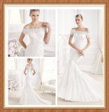 Nouveau Design hors de The Shoulder Lace Wedding Dress