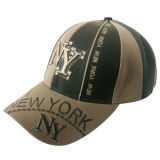 Gorra de béisbol del panel de la aduana 6 con Niza el bordado Bb199