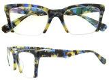 Marcos baratos de la lente de los marcos ópticos de gato del marco al por mayor del ojo
