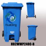 scomparto di immondizia di plastica 240L per esterno dalla Cina