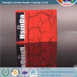 Enduit époxy texturisé de poudre de polyester