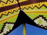 Het kamperen de Zon van Tarp van de Schuilplaats stelt Waterdichte de Luifel van Schuilplaatsen in de schaduw