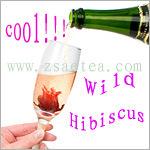 De wilde Eetbare Bloemen van de Hibiscus in Stroop (dgbp-018)