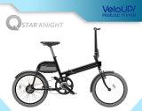 Mini bolso 250W Foldable bicicleta elétrica Ts01f da roda de 20 polegadas