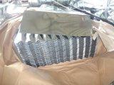 ein gewölbtes galvanisiertes Stahlzink-Dach ohne Farbe für Aferica Markt