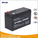 Baterias acidificadas ao chumbo livres da manutenção do UPS 12V7ah para o mercado de Irã