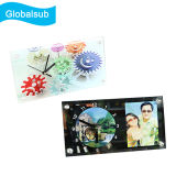 Horloge en verre de photo pour la sublimation 300X160X5mm