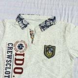 Het Overhemd van het Polo van de Kraag van de Tribune van de jongen in de Kleren van Jonge geitjes