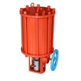 Roterende Pneumatische/Hydraulische Schotse Pneumatische Actuator van het Type van Juk