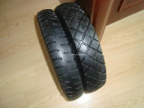 Rueda Barrow Tyre/Wheelbarrow Tyre con Reach y PAHs Certificate (3.50-8, 4.00-8)