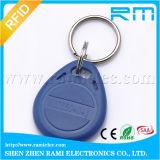 125kHz/13.56MHz Druck-RFID Schlüsselmarke Keyfob für Zugriffssteuerung-Türeinstieg