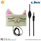 Fones de ouvido do sono dos desenhos animados da orelha de gato