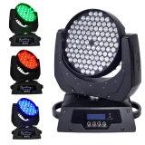 ディスコのための108 PCS LEDの洗浄移動ヘッドライト