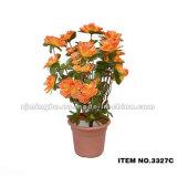 3327 flores artificiais plásticas artificiais de China das flores diretas da fábrica vendem por atacado as flores artificiais