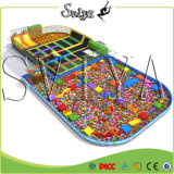 Best Selling Bounce Olympic Trampoline Sponge Park com obstáculos