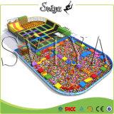 Le parc éponge Olympique Trampoline à rebours le plus vendu avec des obstacles