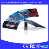 2014 Fashion girevole USB Flash Card Drive (USB 2.0)