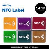 Nfcの付着力のペーパーステッカーHf 13.56MHz Ultralight ISO14443A