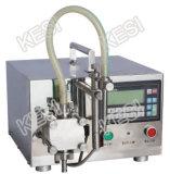 Máquina de rellenar líquida semiautomática, llenador manual