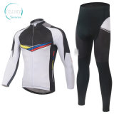 100% Polyester Man's Knit Cycling Wear
