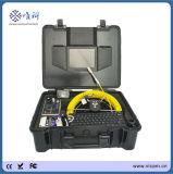 Cámaras subacuáticas portables del dren del empujador del equipo del examen del CCTV del tubo de alcantarilla para la venta