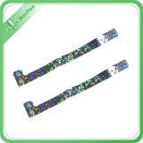 Wristbands colorés de vinyle de mode de cadeau promotionnel fait sur commande d'usine