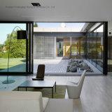 Portello interno di stile del blocco per grafici di alluminio europeo di vetratura doppia (FT-D143)