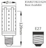Bulbo quente do milho do diodo emissor de luz da venda E27/E14 5-15W