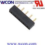 connecteur de carte de connecteur d'en-tête de femelle de 2.54mm