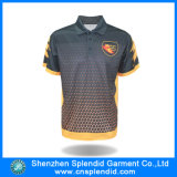 Chemise 2016 de polo de sublimation d'été d'homme de tissu de beauté à vendre