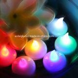 休日の供給の円形の整形浮遊明滅LEDの蝋燭